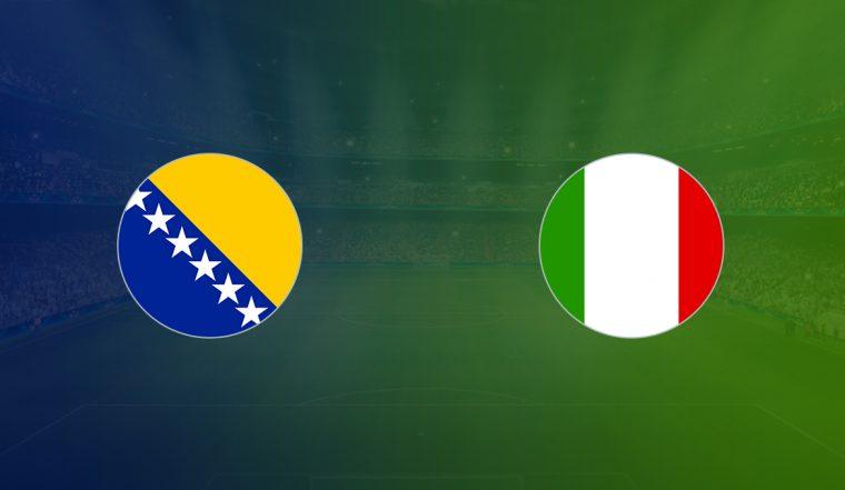 Italia vs Bosnia-Herzegovina su Rai Uno
