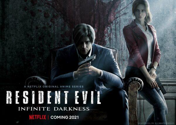 Resident Evil: Infinite Darkness – le prime immagini ufficiali della serie Netflix