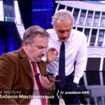 Antonio Mastropasqua ospite a Non é l'Arena su La7