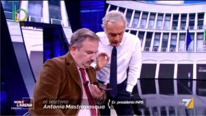 Inchiesta Inps, l'ex presidente Antonio Mastrapasqua a Non é l'Arena su La7