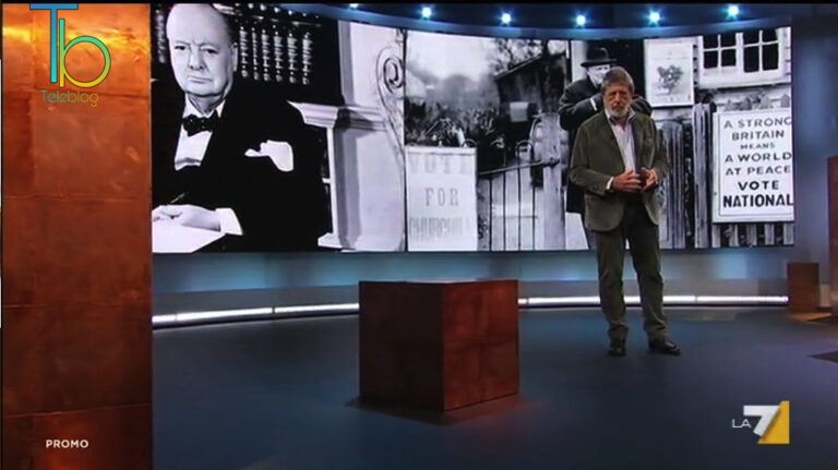 Churchill – L'uomo del destino, speciale Atlantide su La7