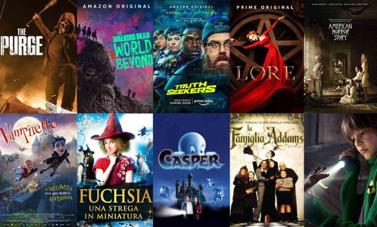"""Halloween con Amazon Prime Video: tutti i titoli """"da paura"""""""
