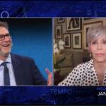 Jane Fonda a Che tempo che fa Rai tre