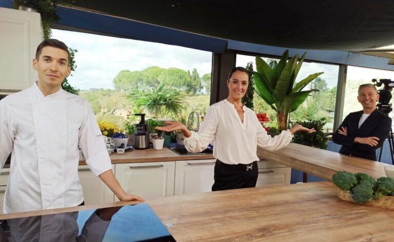 """""""L'ingrediente perfetto"""", Roberta Capua torna in cucina su La7 ogni domenica"""