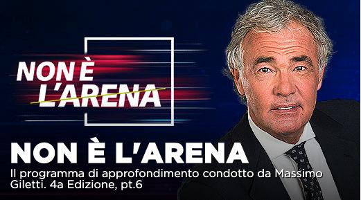 Covid e scarcerazioni, inchiesta Inps e altri argomenti a Non é l'Arena su La7