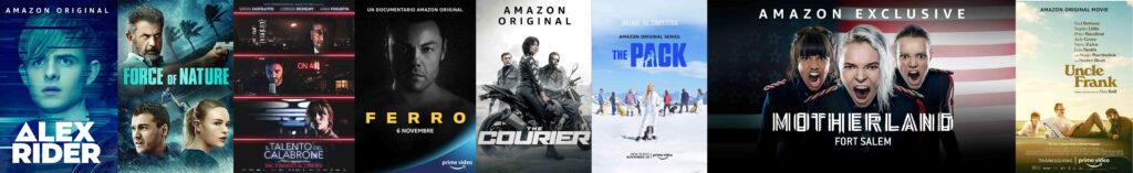 Novità novembre Amazon Prime Video