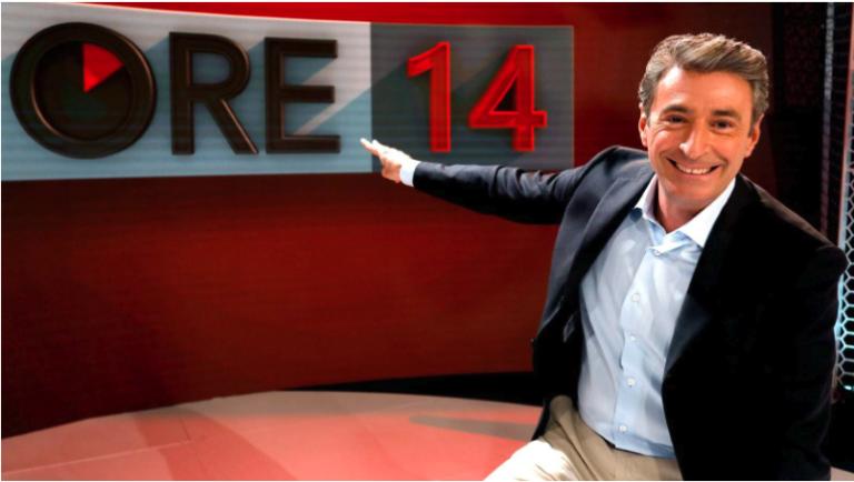 """Milo Infante torna su Rai due alle """"Ore 14"""""""