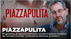 L'Italia nella morsa della seconda ondata: nella puntata di Piazzapulita su La7