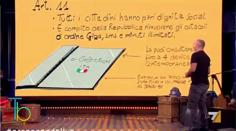 Propaganda Live, emergenza maltempo nella puntata del 9 ottobre su La7