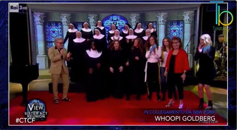 Che tempo che fa, la video intervista alla grande Whoopi Goldberg