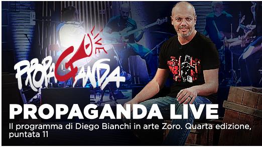 Zerocalcare, Alessia Ciarrocchi ospiti di Propaganda Live su La7