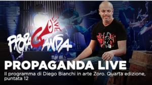 Ezio Mauro, Key Rush tra gli ospiti di Propaganda Live su La7