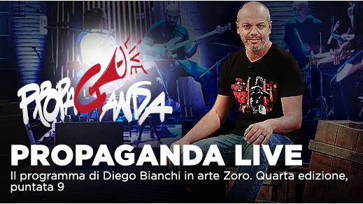 Propaganda Live: ospiti Flavio Insinna, Kasia Smutniak su La7