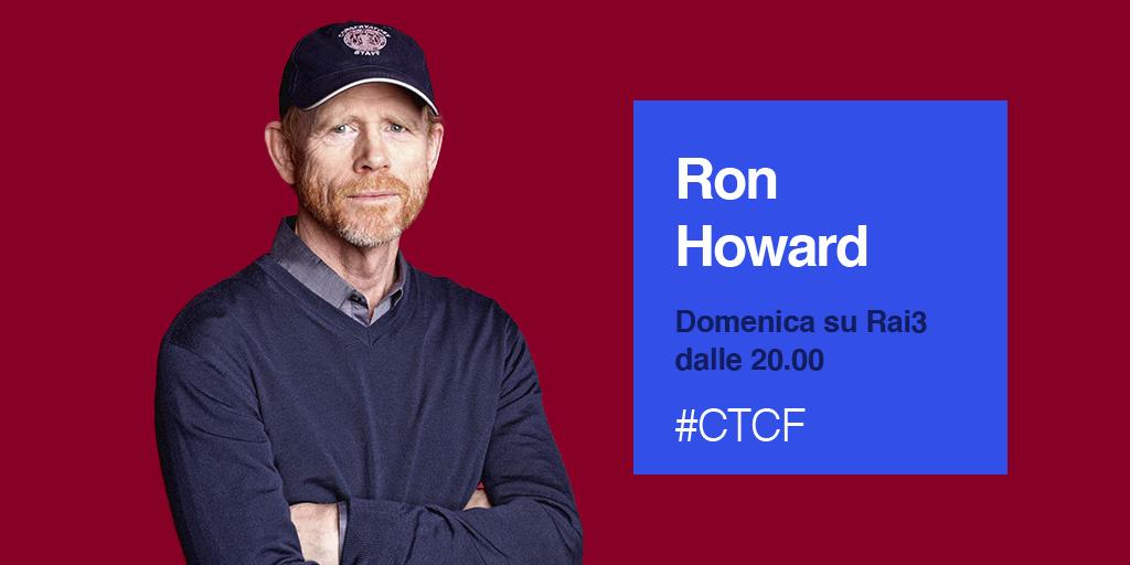 Ron Howard a Che tempo che fa