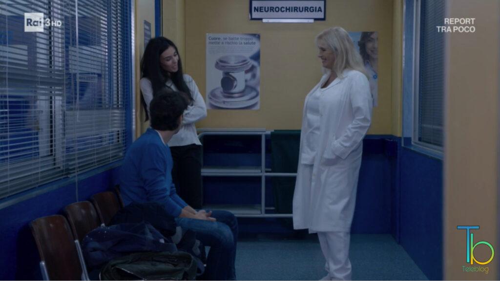 Rossella e Patrizio fanno nascere il figlio di Clara