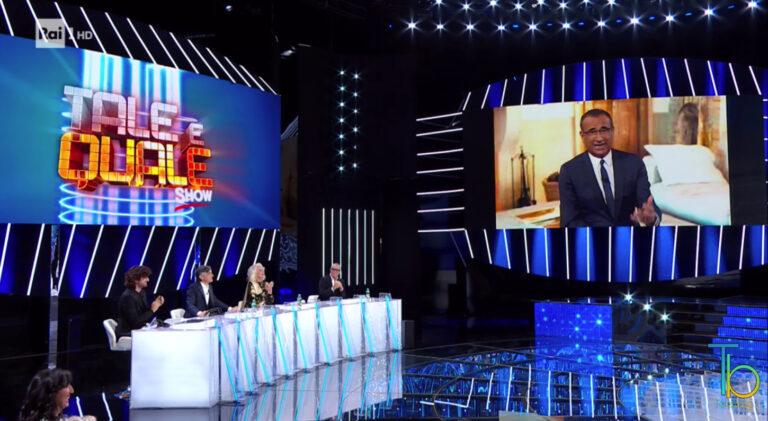 Ascolti tv 20 novembre: ottima chiusura per Tale e quale show