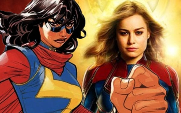 Ms. Marvel: i primi scatti dal set mostrano Kamala in costume da Captain Marvel