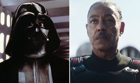 The Mandalorian: Giancarlo Esposito commenta l'armatura simile a Darth Vader