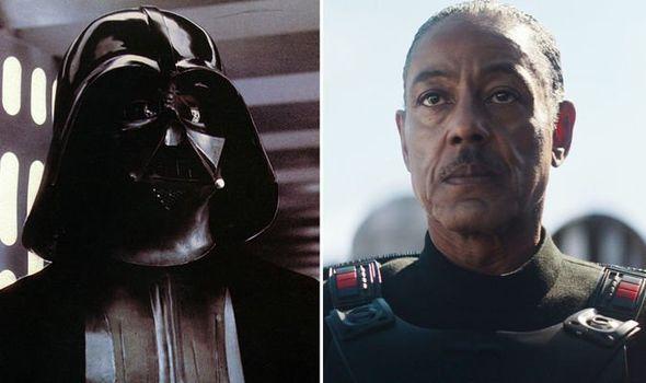The Mandalorian: Giancarlo Esposito commenta l'armatura simile a Darth Vader