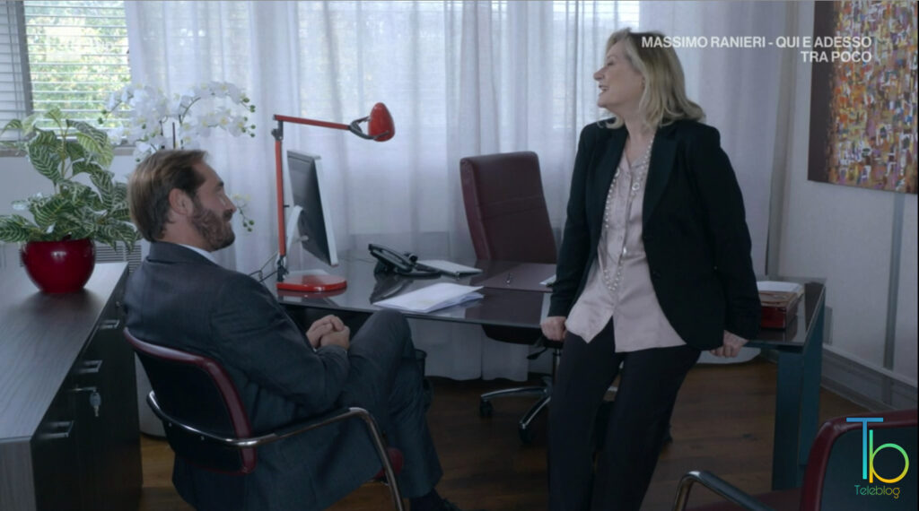 Barbara ci prova con Alberto