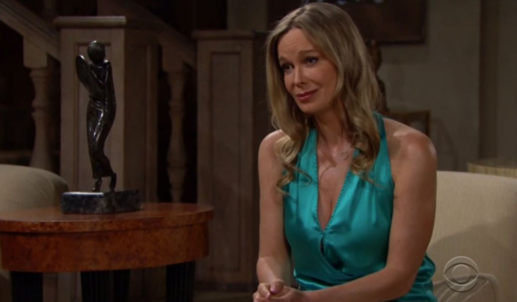 Donna é preoccupata per Brooke