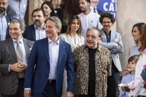 """""""Fratelli Caputo"""", Nino Frassica e Cesare Bocci nella nuova fiction su Canale 5 [Foto]"""