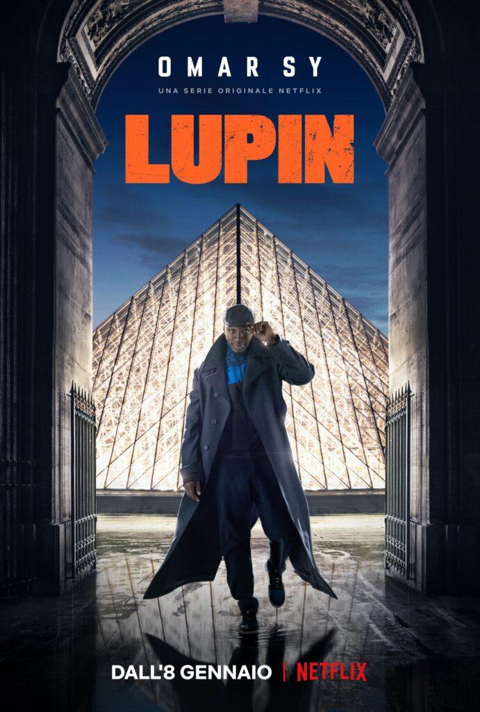 Lupin serie Netflix locandina