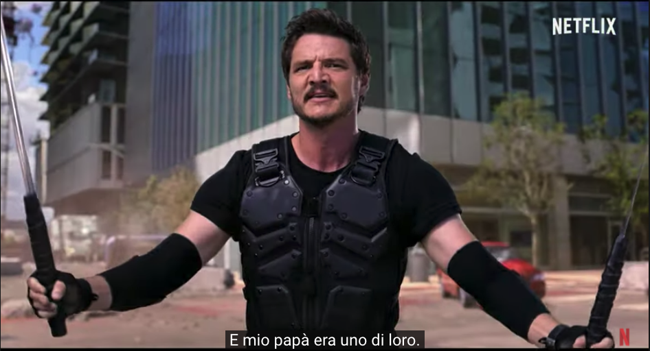 Pedro Pascal in We can be heroes Netflix