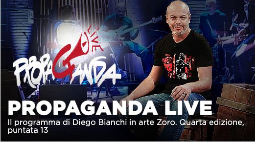 Propaganda Live con Lello Arena, Giovanni Veronesi su La7
