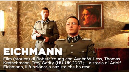 Eichman film La7