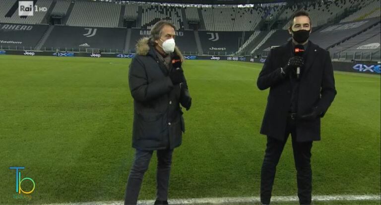 Ascolti tv 13 gennaio, buoni ma non eccezionali per Juventus-Genoa, bene Made in Italy: podcast