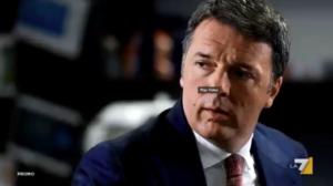 Matteo Renzi a Non é l'Arena su La7