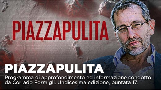 Piazzapulita, furbetti del vaccino e crisi politica su La7