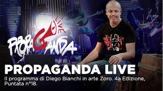 Milena Gabanelli, Valerio Aprea ospiti a Propaganda Live su La7