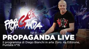 Propaganda Live, ospiti Enrico Mentana, Valerio Aprea su La7