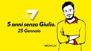 La7 racconta e ricorda Giulio Regeni