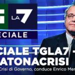 Speciale TgLa7 crisi governo