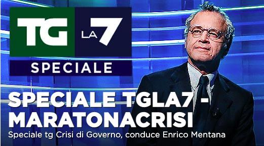 Crisi politica e giorno della memoria: serata speciale su La7
