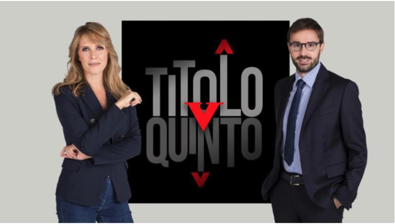 Francesco Boccia e Vincenzo Spadafora ospiti a Titolo V su Rai tre