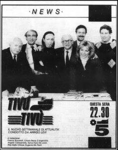 Tivù Tivù, prima del Tg5 Arrigo Levi faceva il rotocalco su Canale 5