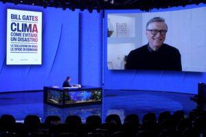 """Bill Gates a Che tempo che fa: """"La pandemia è come il clima, i nostri Governi non ci hanno preparati"""""""