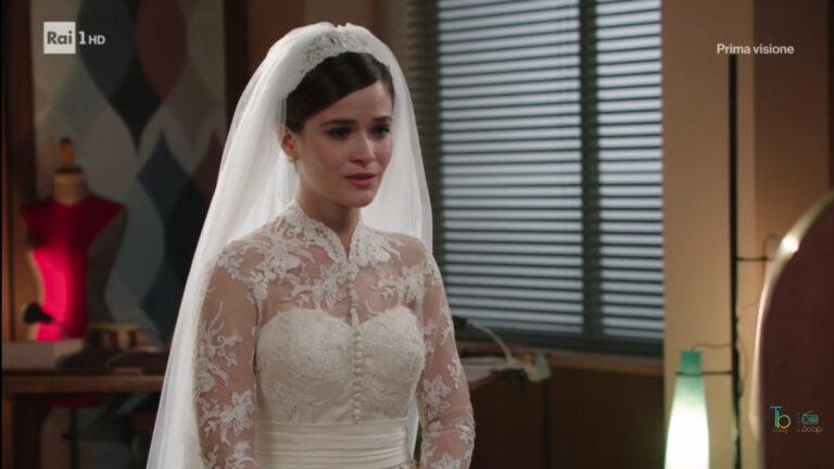 Il paradiso delle signore, Gabriella sposa in lacrime