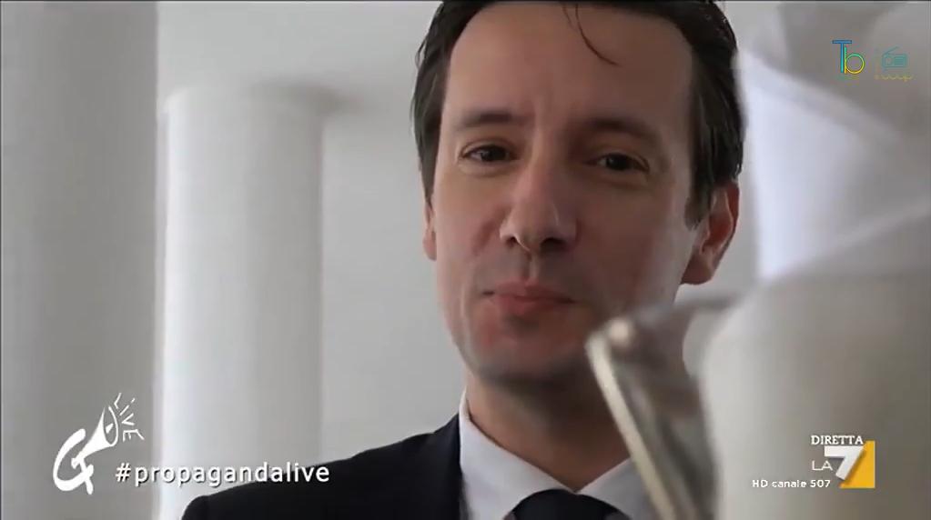 Luca Attanasio intervista da Diego Bianchi per Propaganda Live La7