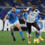Napoli-Atalanta auditel rai uno
