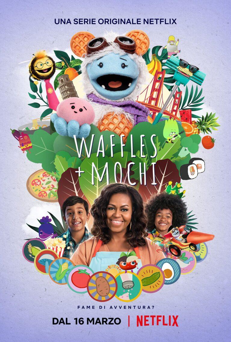 Waffles + Mochi, su Netflix la serie prodotta da Michelle e Obama