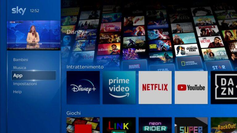 Disney+, dal 1° aprile arriva la app su Sky Q: trattative con DAZN?