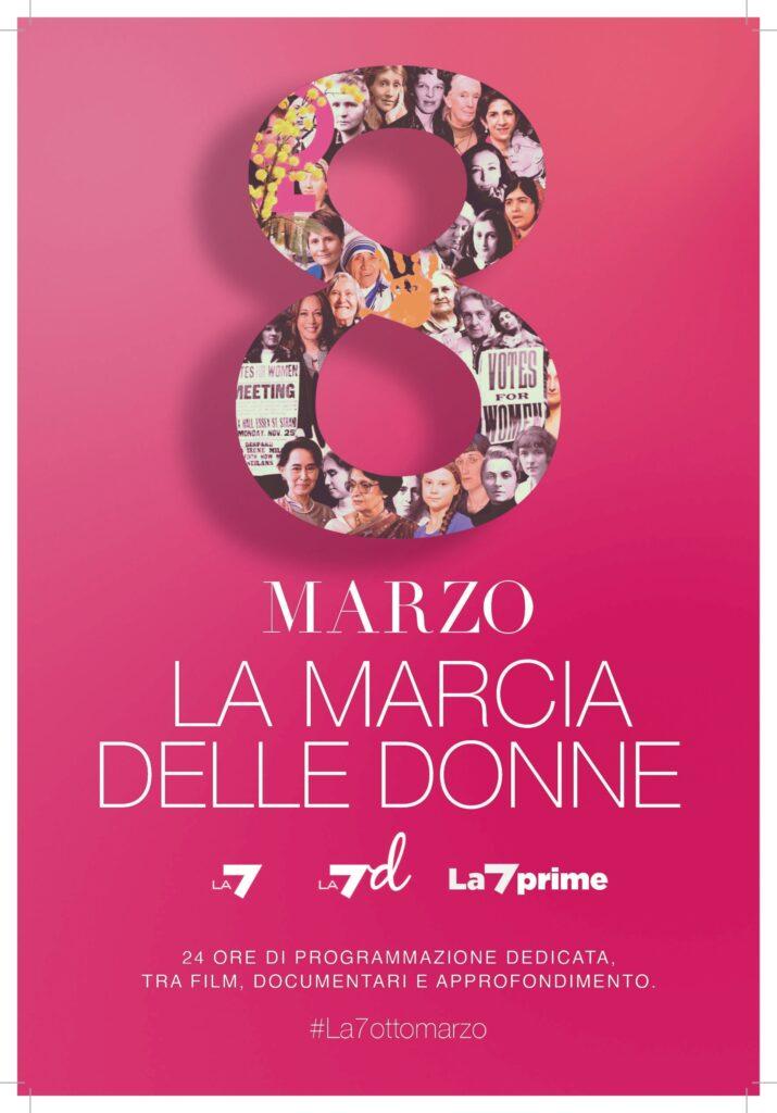 La marcia delle donne La7 e Lad
