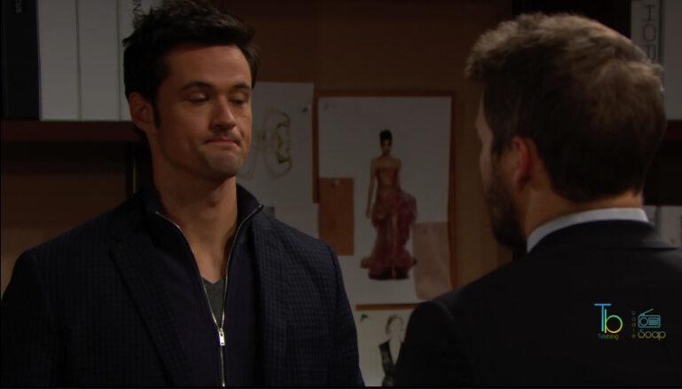 Beautiful, Liam minaccia Thomas