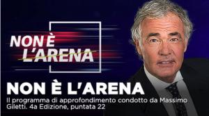 Caso Benotti, vaccini e politica in Calabria a Non é l'Arena su La7