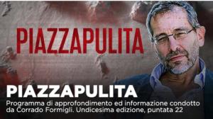 Varianti Covid e inchiesta mascherine nella puntata di Piazzapulita su La7
